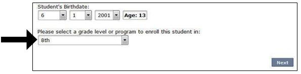 select 8th Grade