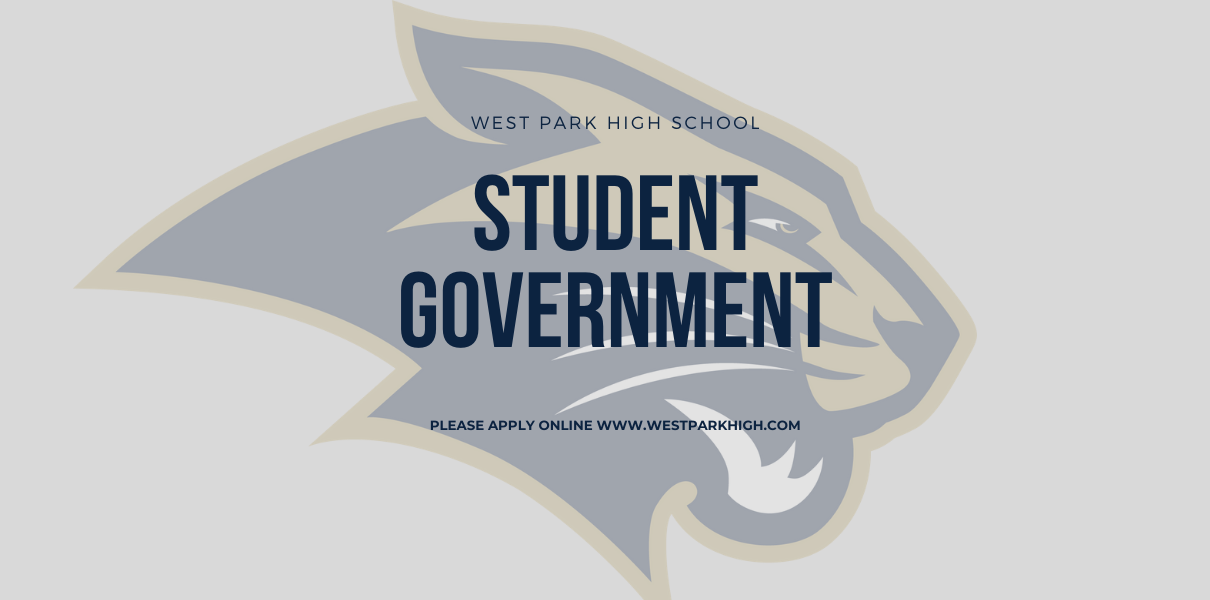 Student Government Applications with Panther Logo