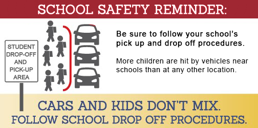 School Safety REMINDER!