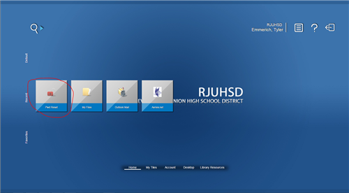 My.rjuhsd.us homepage