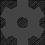Settings Gear Icon.