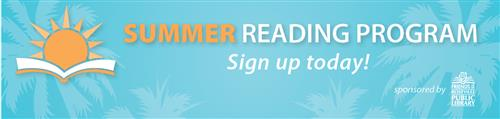summer reading banner roseville public library