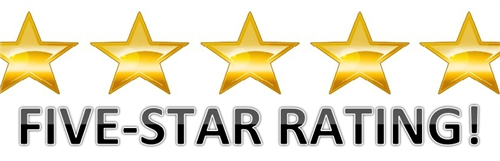 5 star rating image