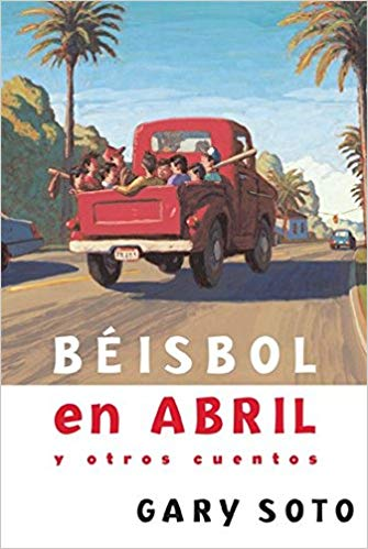 beisbol en abril book cover