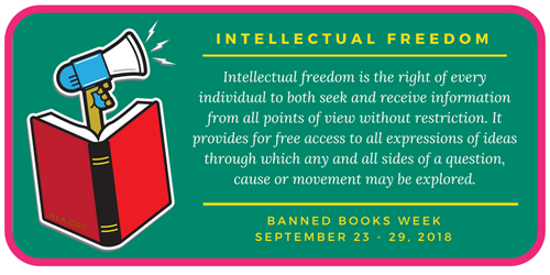 intellectual freedom definition banner