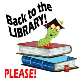 Back to the library book image