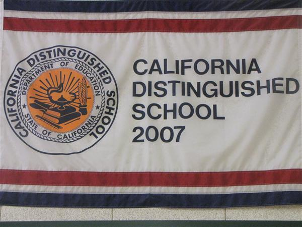 California Distinguished School in 2007